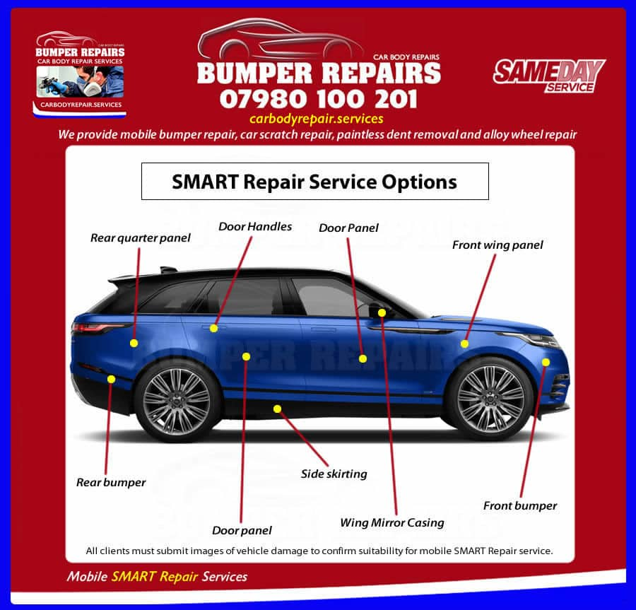 Car Body Repair In Brompton SW7 | Mobile Car Body Repairs
